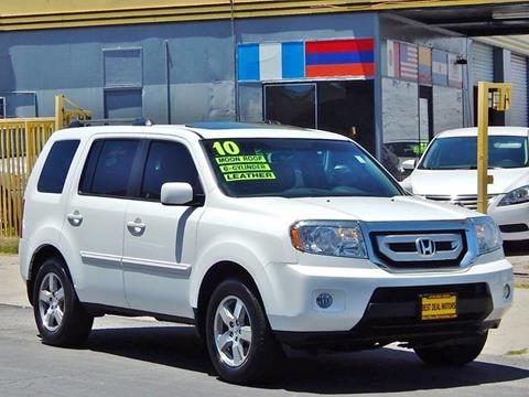 2010 Honda Pilot for sale at Best Deal Motors - Used Cars ,and Trucks for sale in Sun Valley,  Los Angeles CA