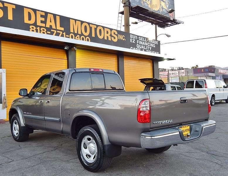 2005 Toyota Tundra for sale at Best Deal Motors - Used Cars ,and Trucks for sale in Sun Valley,  Los Angeles CA