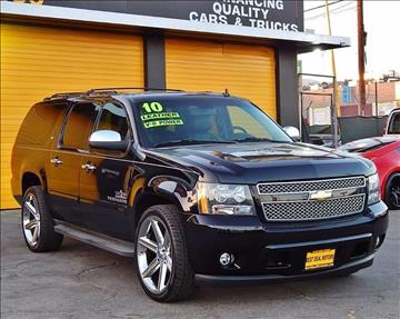 2010 Chevrolet Suburban for sale at Best Deal Motors - Used Cars and Trucks for sale in Sun Valley,  Los Angeles CA