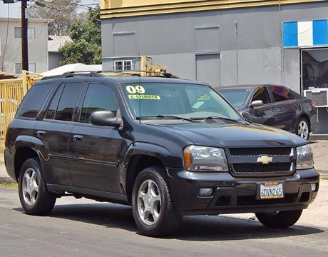 2009 Chevrolet TrailBlazer for sale at Best Deal Motors - Used Cars ,and Trucks for sale in Sun Valley,  Los Angeles CA