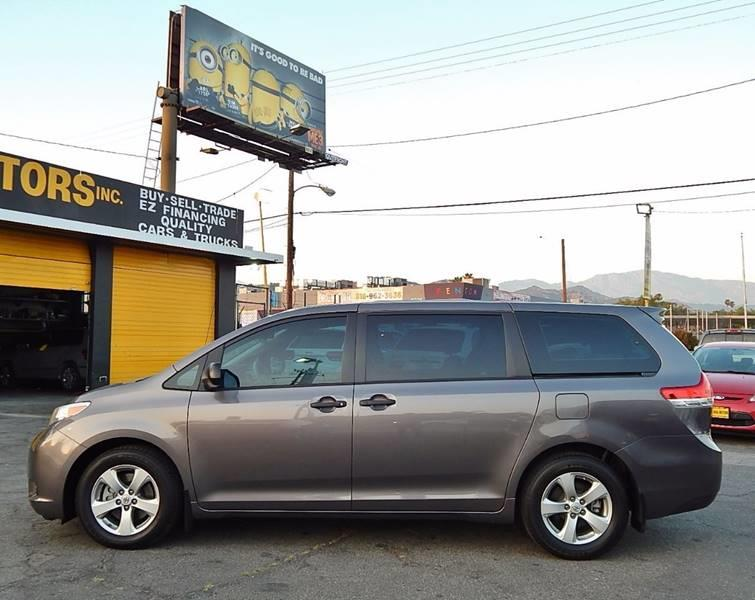 2014 Toyota Sienna for sale at Best Deal Motors - Used Cars ,and Trucks for sale in Sun Valley,  Los Angeles CA