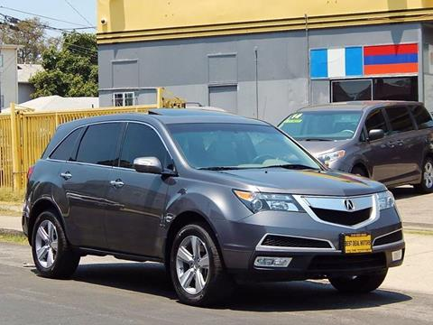 2011 Acura MDX for sale at Best Deal Motors - Used Cars ,and Trucks for sale in Sun Valley,  Los Angeles CA