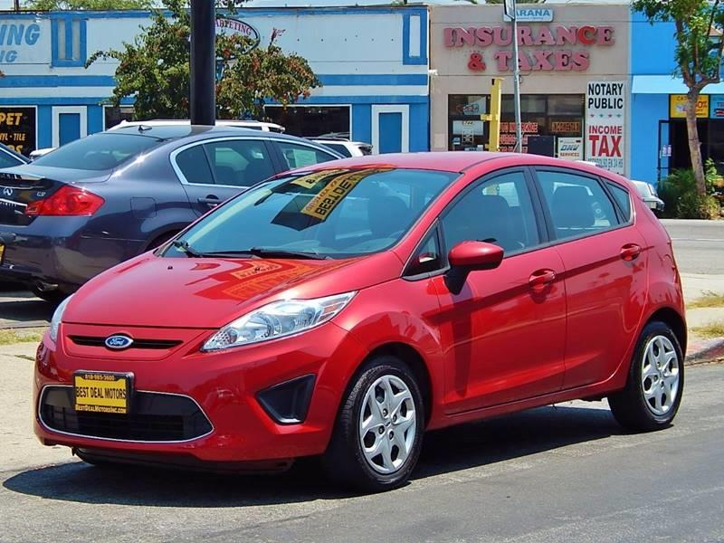 2012 Ford Fiesta for sale at Best Deal Motors - Used Cars ,and Trucks for sale in Sun Valley,  Los Angeles CA
