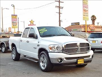 2008 Dodge Ram Pickup 1500 for sale at Best Deal Motors - Used Cars ,and Trucks for sale in Sun Valley,  Los Angeles CA