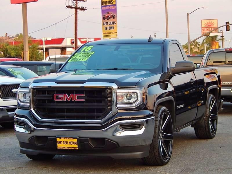 2016 GMC Sierra 1500 for sale at Best Deal Motors - Used Cars ,and Trucks for sale in Sun Valley,  Los Angeles CA