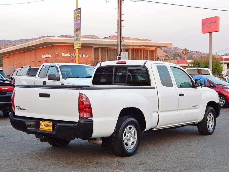 2008 Toyota Tacoma for sale at Best Deal Motors - Used Cars ,and Trucks for sale in Sun Valley,  Los Angeles CA