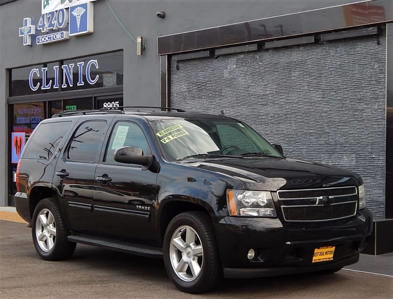 2010 Chevrolet Tahoe for sale at Best Deal Motors - Used Cars and Trucks for sale in Sun Valley,  Los Angeles CA