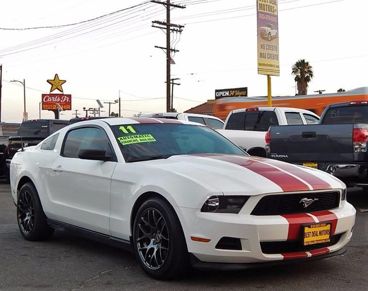 2011 Ford Mustang for sale at Best Deal Motors - Used Cars and Trucks for sale in Sun Valley,  Los Angeles CA