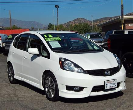 2013 Honda Fit for sale at Best Deal Motors - Used Cars and Trucks for sale in Sun Valley,  Los Angeles CA