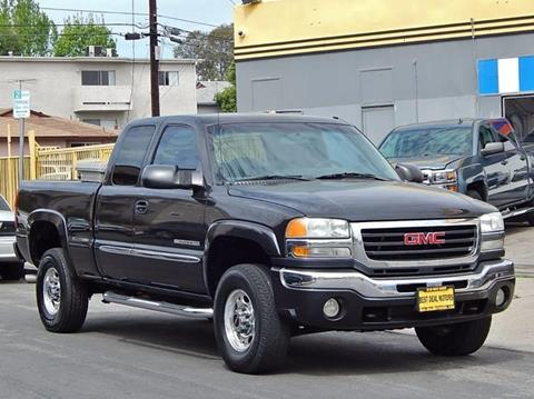2003 GMC Sierra 2500HD for sale at Best Deal Motors - Used Cars and Trucks for sale in Sun Valley,  Los Angeles CA