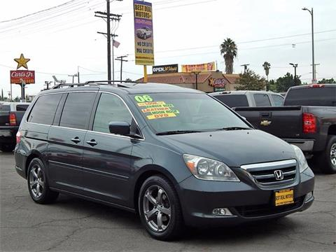 2006 Honda Odyssey for sale at Best Deal Motors - Used Cars and Trucks for sale in Sun Valley,  Los Angeles CA