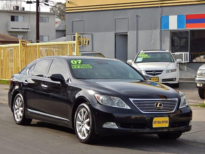 2007 Lexus LS 460 for sale at Best Deal Motors - Used Cars ,and Trucks for sale in Sun Valley,  Los Angeles CA