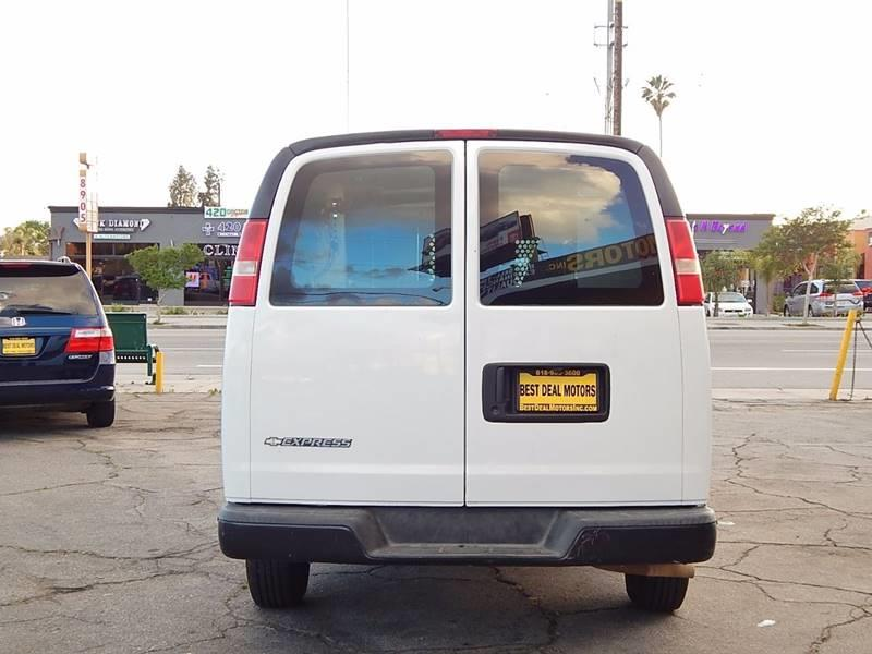 2008 Chevrolet Express Cargo for sale at Best Deal Motors - Used Cars ,and Trucks for sale in Sun Valley,  Los Angeles CA