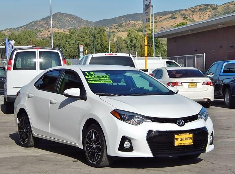 2014 Toyota Corolla for sale at Best Deal Motors - Used Cars ,and Trucks for sale in Sun Valley,  Los Angeles CA