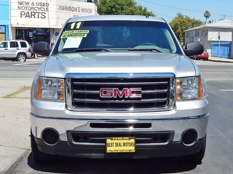 2011 GMC Sierra 1500 for sale at Best Deal Motors - Used Cars ,and Trucks for sale in Sun Valley,  Los Angeles CA