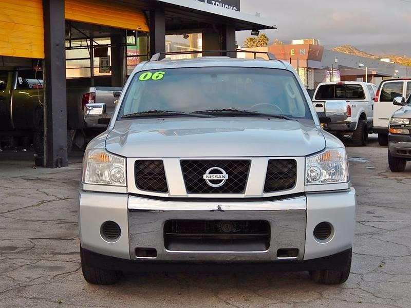 2006 Nissan Armada for sale at Best Deal Motors - Used Cars ,and Trucks for sale in Sun Valley,  Los Angeles CA