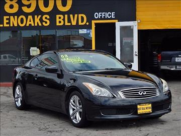 2009 Infiniti G37 Coupe for sale at Best Deal Motors - Used Cars and Trucks for sale in Sun Valley,  Los Angeles CA