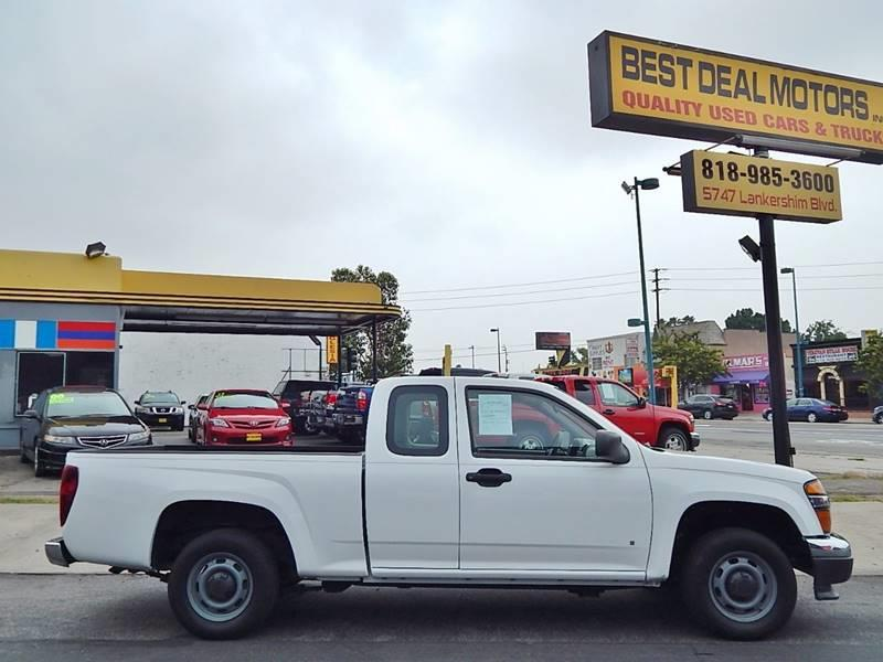 2008 GMC Canyon for sale at Best Deal Motors - Used Cars ,and Trucks for sale in Sun Valley,  Los Angeles CA