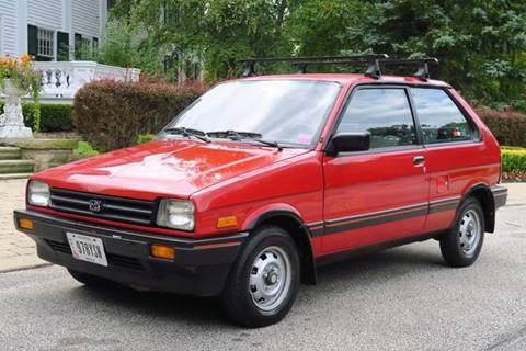 1988 Subaru Justy for sale at Car Connection -J in Willoughby OH