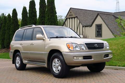 2000 Lexus LX 470 for sale at Car Connection -J in Willoughby OH