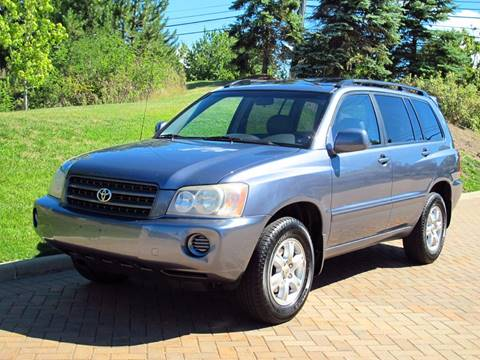 2003 Toyota Highlander for sale in Willoughby, OH