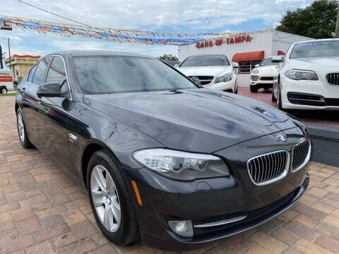 2012 BMW 5 Series for sale at Cars of Tampa in Tampa FL
