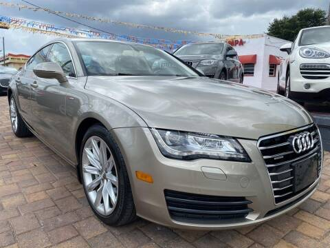 2012 Audi A7 for sale at Cars of Tampa in Tampa FL