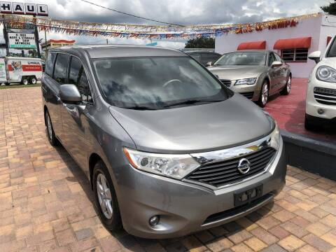 2013 Nissan Quest for sale at Cars of Tampa in Tampa FL