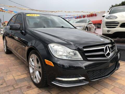 2012 Mercedes-Benz C-Class for sale at Cars of Tampa in Tampa FL