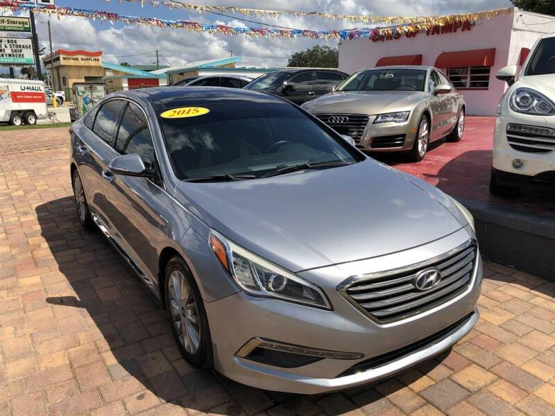 2015 Hyundai Sonata for sale at Cars of Tampa in Tampa FL