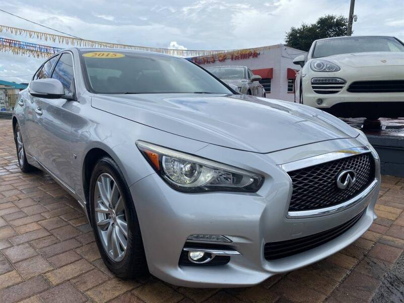 2015 Infiniti Q50 for sale at Cars of Tampa in Tampa FL