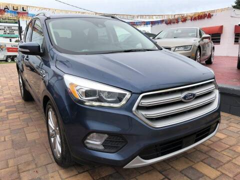 2018 Ford Escape for sale at Cars of Tampa in Tampa FL