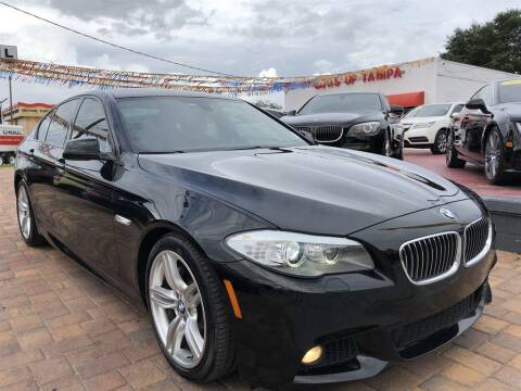 2013 BMW 5 Series for sale at Cars of Tampa in Tampa FL