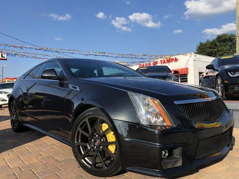 2011 Cadillac CTS for sale at Cars of Tampa in Tampa FL