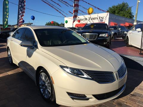 2014 Lincoln MKZ for sale in Tampa, FL