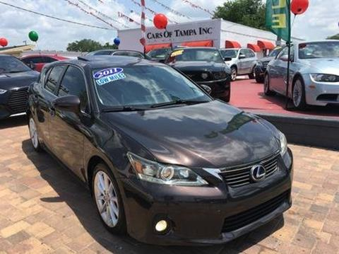 2011 Lexus CT 200h for sale in Tampa, FL