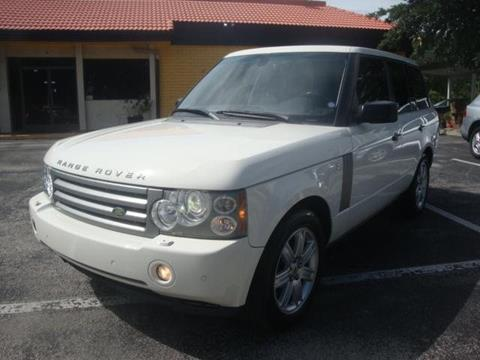 2008 Land Rover Range Rover for sale in Maitland FL