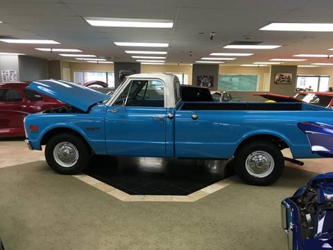 1972 Chevrolet C/K 20 Series for sale at Classic Car Addiction in Marysville WA