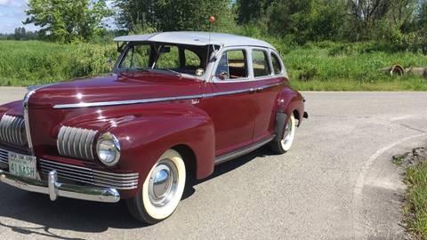 1941 Nash Ambasador for sale at Classic Car Addiction in Marysville WA
