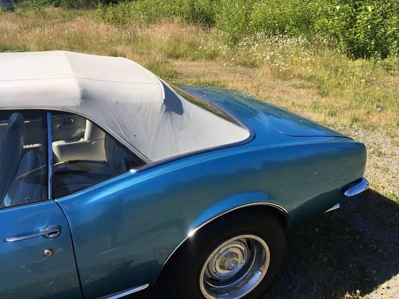 1967 Chevrolet Camaro Convertible - Marysville WA