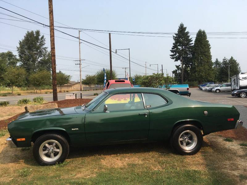 1974 Plymouth Duster for sale at Classic Car Addiction in Marysville WA