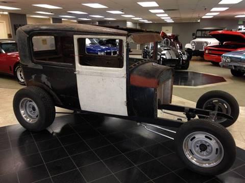 1929 Ford Model A sedan for sale at Classic Car Addiction in Marysville WA