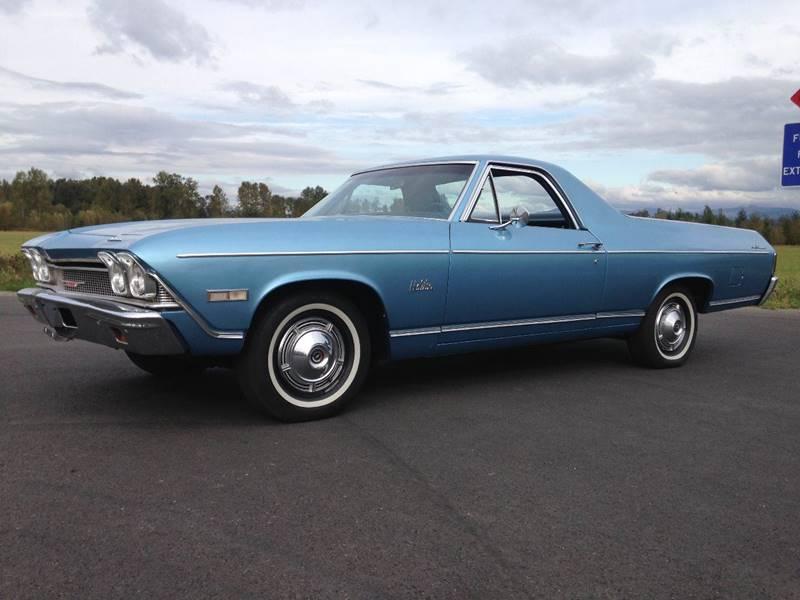 1968 Chevrolet El Camino for sale at Classic Car Addiction in Marysville WA