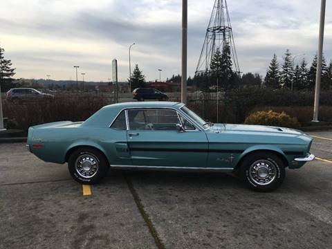 1968 Ford Mustang for sale at Classic Car Addiction in Marysville WA