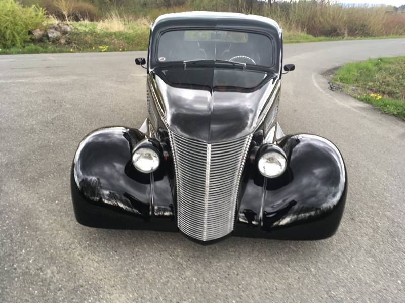 Other turbo charged V-6 1938 Chevrolet Street Rod turbo charged V-6 5980 Miles Black Coupe V6 Syclone tu