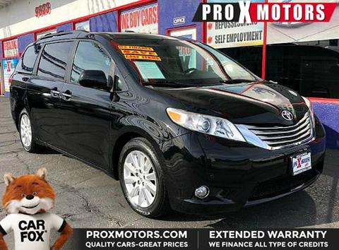 2011 Toyota Sienna for sale in Bellflower, CA