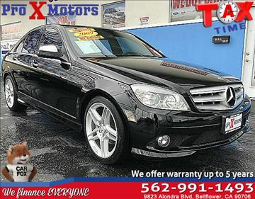 2009 Mercedes-Benz C-Class for sale in Bellflower, CA