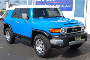 2008 Toyota FJ Cruiser for sale in Akron, OH