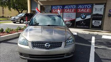 2005 Nissan Altima for sale in Doral, FL