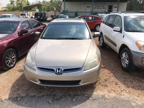 2004 Honda Accord for sale at Stevens Auto Sales in Theodore AL